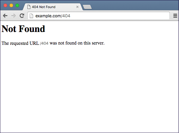 "What is ""404 Not Found"" and How to fix it ?"