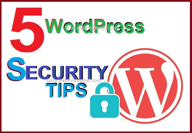 5 Simple WordPress Security Tips